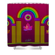 Tuscan Magenta Shower Curtain