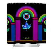 Tuscan Neon Shower Curtain