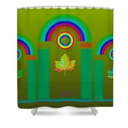 Tuscan Olive Shower Curtain