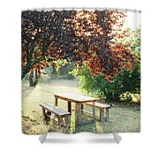 Tuscan Picnic Shower Curtain