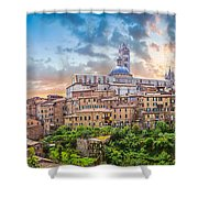 Tuscan Romance  Shower Curtain