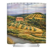 Tuscan Summer Shower Curtain