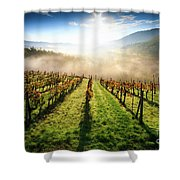 Tuscan Sunrise Shower Curtain