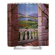 Tuscan Terrace  Shower Curtain