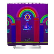 Tuscan Violet Shower Curtain