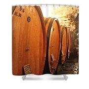 Tuscan Wine Cellar Shower Curtain