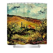 Tuscany 67 Shower Curtain