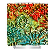 Tuscany Batik Shower Curtain