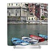 Tuscany Boats Shower Curtain
