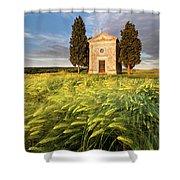 Tuscany Chapel Shower Curtain