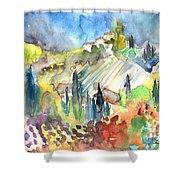 Tuscany Landscape 03 Shower Curtain