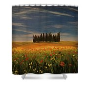 Tuscany Soldiers  Shower Curtain