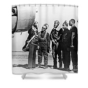 Tuskegee Airmen, 1942 Shower Curtain