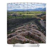 Tuzigoot National Monument Shower Curtain