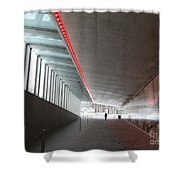 Tv Tower Exit Shower Curtain