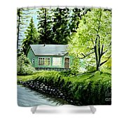Twaine Harte Shower Curtain