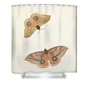 Twee Vlinders Shower Curtain