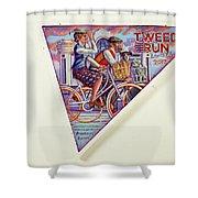 Tweed Run London Princess And Guvnor  Shower Curtain