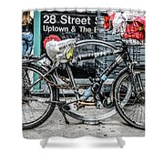 Twenty Eight Street Shower Curtain
