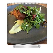 Twice Baked Binham Blue Cheese & Walnut Shower Curtain