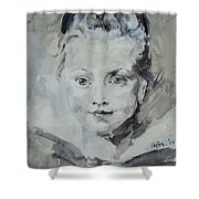 Twiggy Baby Shower Curtain