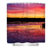 Twilight Afterglow #2 Shower Curtain