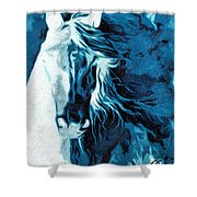 Twilight At Alcalde Shower Curtain
