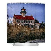 Twilight At East Point Shower Curtain