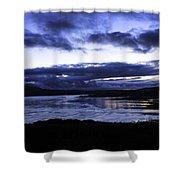 Twilight At Loch Bracadale Shower Curtain