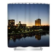 Twilight Augusta Shower Curtain