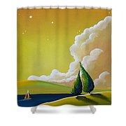 Twilight Bay Shower Curtain
