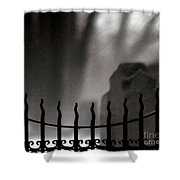 Twilight Beyond Grace Shower Curtain by Linda Shafer