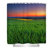 Twilight Fields Shower Curtain