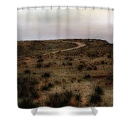 Twilight Grasslands Shower Curtain