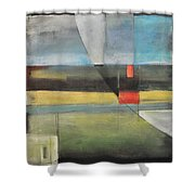 Twilight Harvest Shower Curtain
