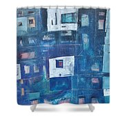 Twilight Highrise Shower Curtain