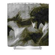 Twilight In Mescalero Shower Curtain
