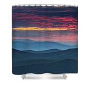 Twilight. Shower Curtain by Itai Minovitz