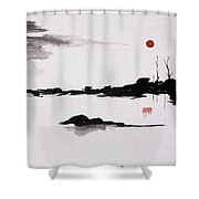 Twilight Journey - II Shower Curtain