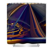 Twilight Journey Shower Curtain