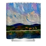 Twilight Larger Options Shower Curtain