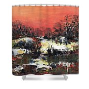 Twilight Madness Shower Curtain