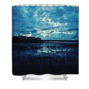Twilight On The Lake Shower Curtain
