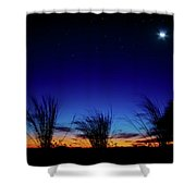 Twilight Silhouettes Shower Curtain