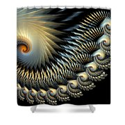 Twilight Wings Shower Curtain