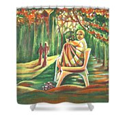Twilight Years Shower Curtain