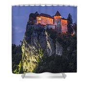 Bled Castle Shower Curtain