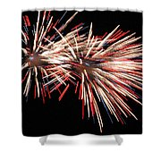 Twin Burst Shower Curtain