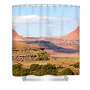 Twin Buttes Shower Curtain