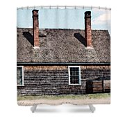 Twin Chimneys Shower Curtain